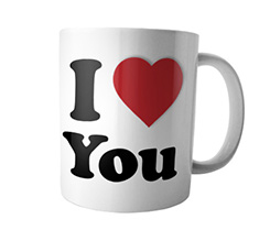 Tazza Panoramica I Heart You