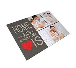 Puzzle Formato A4 Home is Here