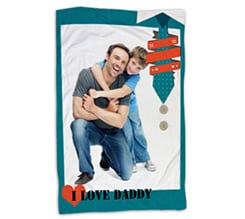 Coperta 150x100 I Love Daddy