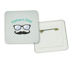 Spilla Quadrata Father's Day