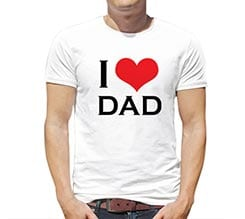T-shirt I Love Dad