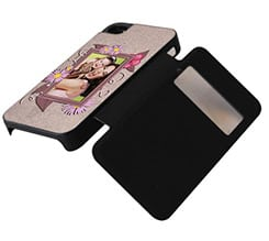 Flip iPhone 4-4s Cornice Decorata