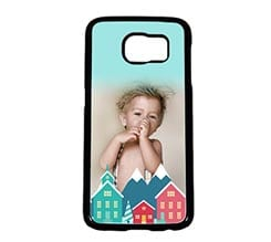 Cover Galaxy S6 Casette Colorate