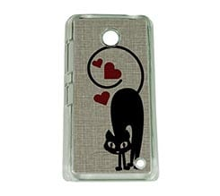 Cover Nokia 630 Lovely Cats