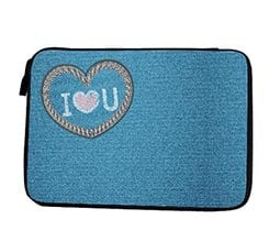 Custodia Tablet Love Jeans