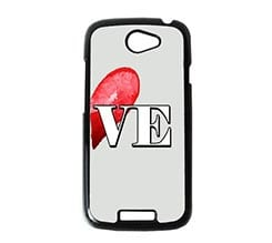 Cover HTC One S Half Love Two