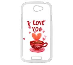 Cover HTC One S Coffee Love
