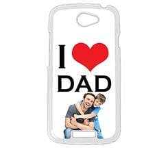 Cover HTC One S I Love Dad