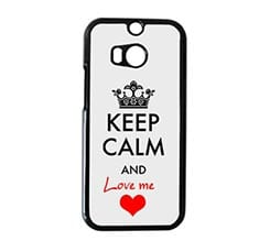 Cover HTC M8 Keep Calm