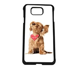 Cover Samsung Alpha Dog in love