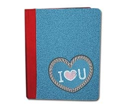 Custodia iPad Love Jeans