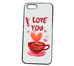 Cover iPhone 5S Coffee Love