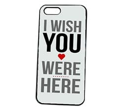 Cover iPhone 5S I Wish You Were Here