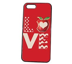 Cover iPhone 5S Apple Love