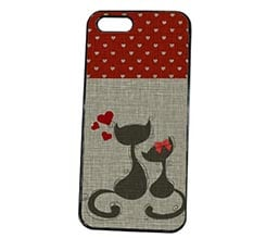 Cover iPhone 5S Cats in Love