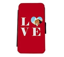 Flip Cover Laterale iPhone 5 e 5S Big Love