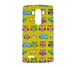 Cover Lg G4 3D Gufi Colorati