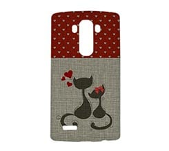 Cover Lg G4 3D Little Cats