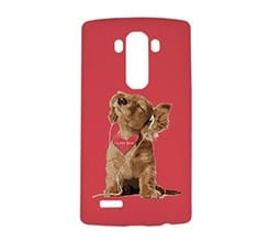Cover Lg G4 3D Dog in Love