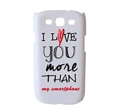 Cover Samsung S3 3D I Love You More
