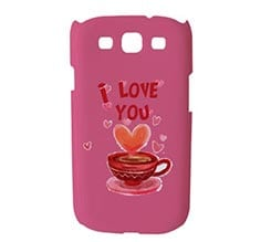 Cover Samsung S3 3D Tazzina Love