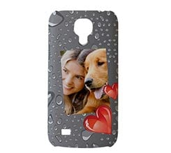 Cover S4 Mini 3D Gocce Love