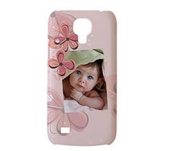 Cover S4 Mini 3D Flowers