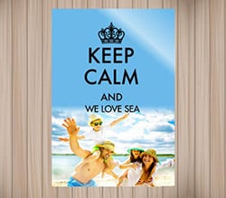 Poster Carta Opaca Keep Calm