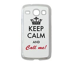 Cover Samsung Galaxy Core Keep Calm