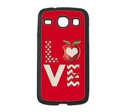 Cover Samsung Galaxy Core Love Mela