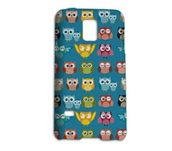 Cover Samsung S5 Mini 3D Gufetti Colorati