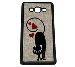 Cover Galaxy A7 Cat in Love