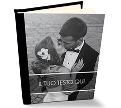 Album Retro Pelle Transparent Wedding