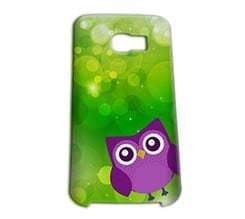 Cover Galaxy S6 Edge 3D Gufetto Viola