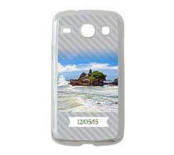 Cover Samsung Galaxy Core Righe Oblique