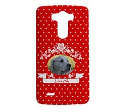 Cover Lg G3 3D Texture Rossa
