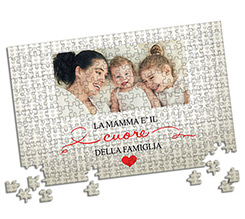 Puzzle A3 Heart of family