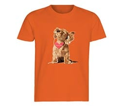 T-shirt baby Dog in love
