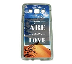 Cover Samsung A3 What i love