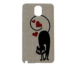 Cover 3d Note 3 Samsung Cat in love