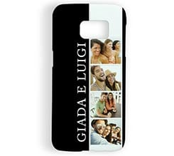 Cover Galaxy s7 3D Black and white