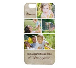 Cover iPhone 6 3D Beige pattern
