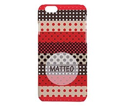 Cover iPhone 6 3D Pois colorati