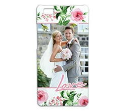 Cover p8 Lite 3D Flowers