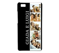 Cover p8 Lite 3D Black and white