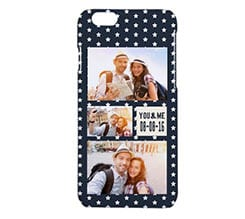 Cover iPhone 6 3D Stelline bianche