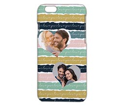 Cover iPhone 6 3D Trame colorate