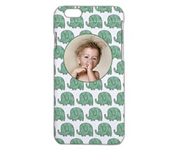Cover iPhone 6 3D Elefantini verdi
