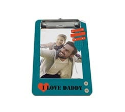 Portablocco A5 in masonite I love daddy