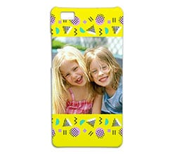 Cover p8 Lite 3D Yellow lemon
